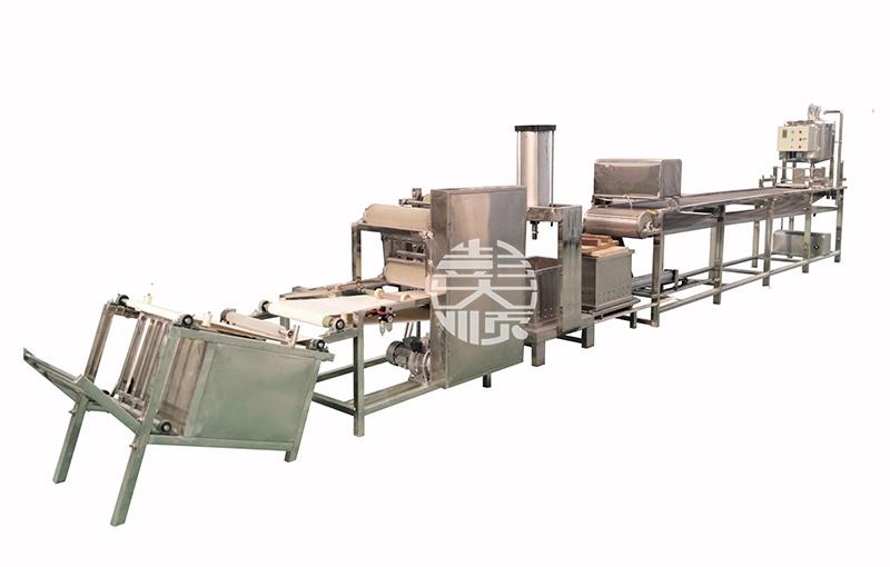 新型豆腐皮机,按键操作生产,方便快捷